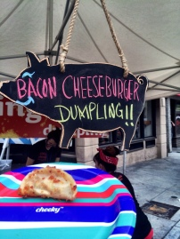Bacon Cheeseburger Dumpling? Happy Friday people.