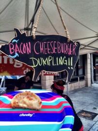 Bacon Cheeseburger Dumpling? Happy Friday people.
